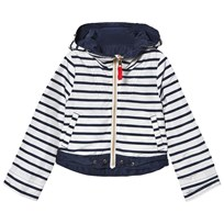 Cyrillus Navy Reversible Windbreaker Navy/stripe