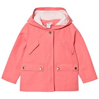 Cyrillus Pink Padded Hooded Jacket Pink