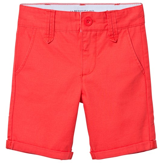Cyrillus Red Chino Shorts Red
