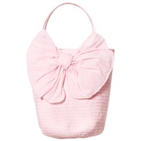 Grevi Pink Tiered Handbag with Bow 7214