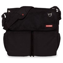 Skip Hop Dash Signature Diaper Bag Black черный