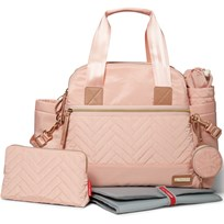 Skip Hop Suite Diaper Satchel Blush Blush