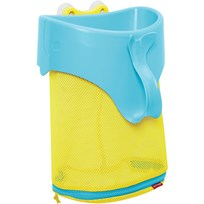 Skip Hop Moby Scoop & Splash Bath Toy Organizer Valkoinen