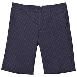 Mayoral Navy Jacquard Shorts