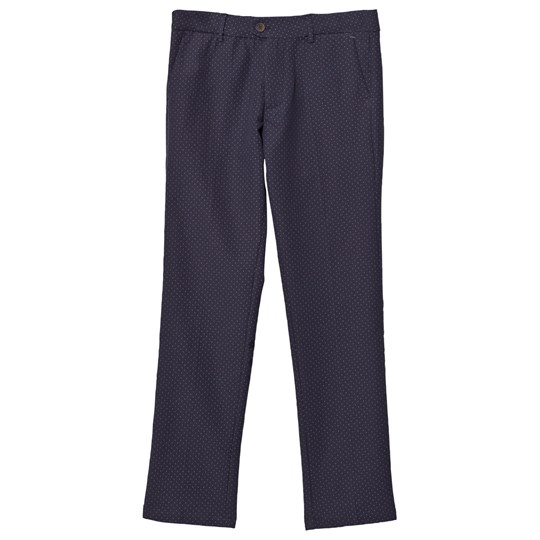 Mayoral Navy Jacquard Trousers 24