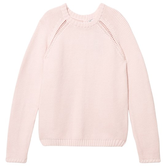 Cyrillus Pale Pink Knitted Sweater Pink