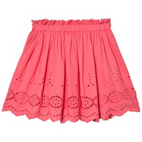 Cyrillus Pink Broderie Anglaise Skirt Pink