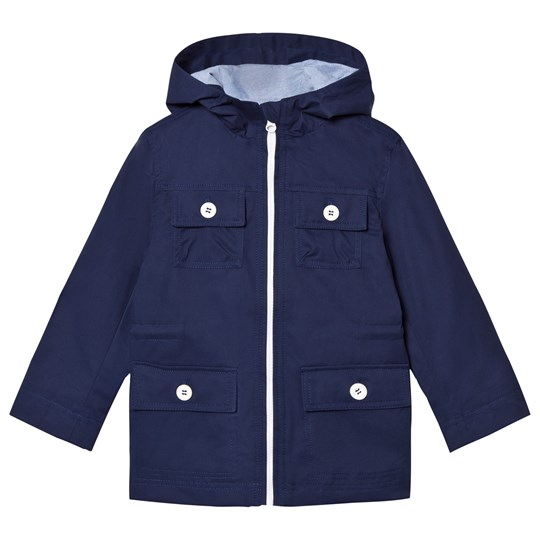 Cyrillus Navy Hooded Parka Navy