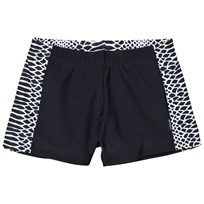 Lindberg Vincent Swim Trunk Black/White Multi