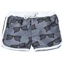 Lindberg Ellis Swim Diaper Shorts Grey Musta