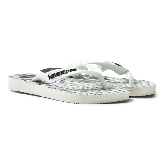 Havaianas Kids Star Wars Sandal Black/White WHITE/WHITE