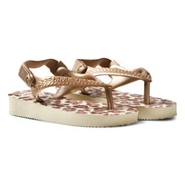 Havaianas Baby Chic Animals Sandal Beige/Rose Gold beige/rose gold