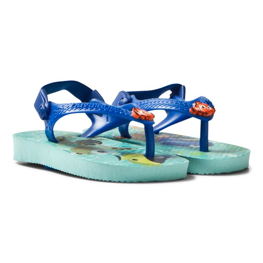 Havaianas Baby Finding Nemo Cuties Sandal Ice Blue Pink