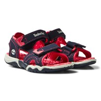 Timberland Adventure Seeker Open Toe Sandal Navy/Red Black Iris