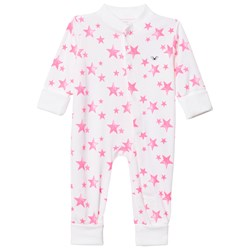 Livly Overall Hot Pink Stars