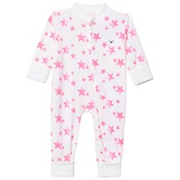 Livly Baby Bodysuit Hot Pink Stars Hot Pink Stars