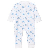 Livly Overall Neon Blue Stars Neon Blue Stars