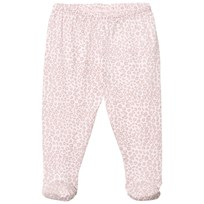 Livly Footed Pants Pink Leo Pink Leo