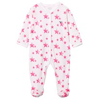 Livly Simplicity Footie Hot Pink Stars Hot Pink Stars
