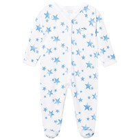 Livly Simplicity Footie Neon Blue Stars Neon Blue Stars
