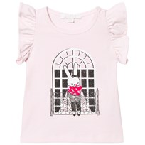 Livly Angel Sleeve T-shirt French Window Rosa Pink French Window