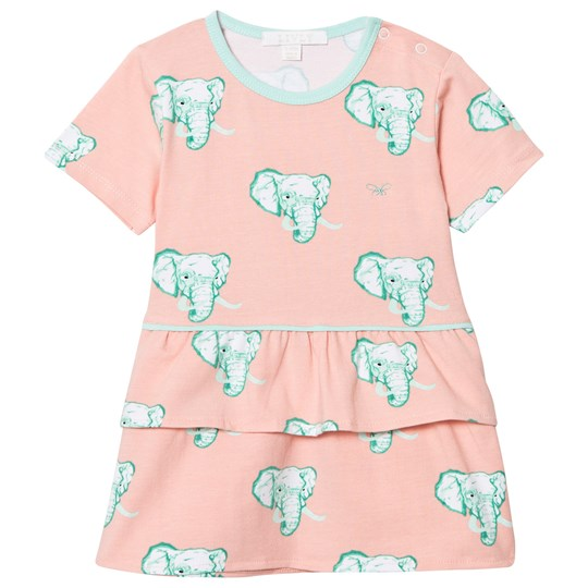 Livly Lily Dress Coral Elephants Coral Elephants