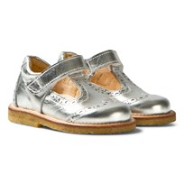 Angulus Silver T Bar Shoes prata 1329