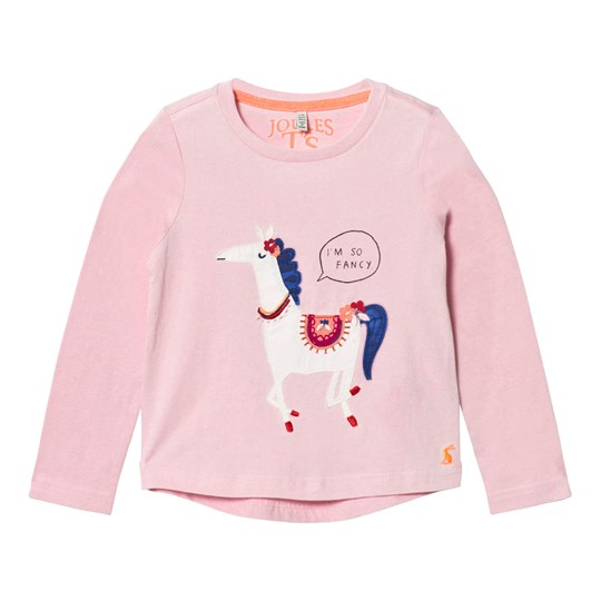 Tom Joule Pink Horse Applique Tee ROSE PINK HORSE