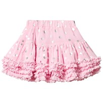 Joules Pink and Silver Spot Tutu ROSE PINK DOT