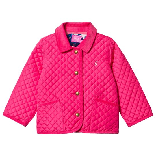Tom Joule Bright Pink Quilted Jacket PRETTY PINK