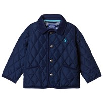 Joules Navy Quilted Jacket Navy