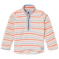 Joules Pink and Blue Stripe Fleece MULTI STRIPE