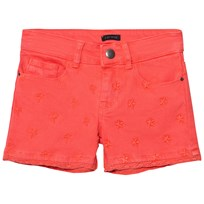 IKKS Coral Star Embroidered Denim Shorts 03