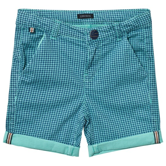 IKKS Green Patterned Shorts 55