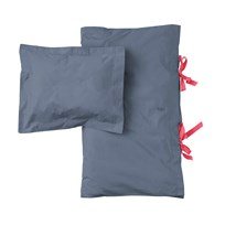 garbo&friends Steel Blue Adult Bed Set Dark Gray/Blue
