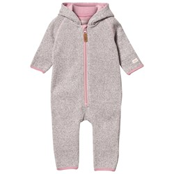 ebbe Kids Remi Fleece Onesie Vapour Grey