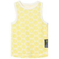 Kattnakken Wool Tank Top Yellow Lion Sitron Løve