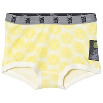 Kattnakken Wool Brief Shorts Yellow Lion Sitron Løve
