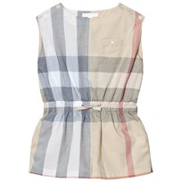 Burberry Beige Classic Check Rosanna Playsuit Pale Stone Check