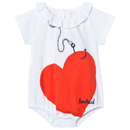 Burberry White Love Hooked Baby Body White