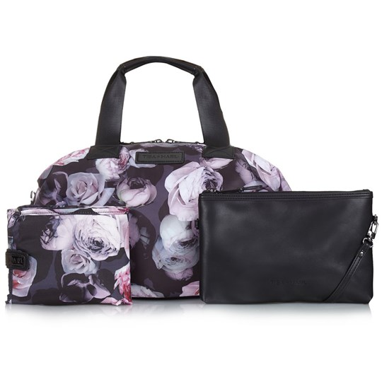 Tiba + Marl Flower Print Raf Holdall Changing Bag Flower Print