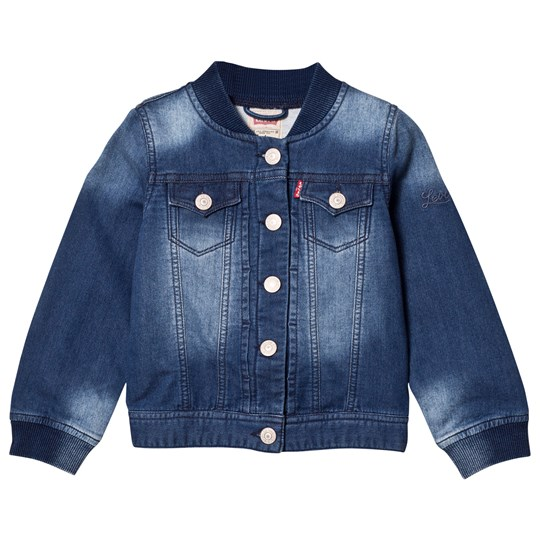 Levis Kids Mid Wash Blue Jog Denim Jacket 46