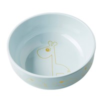 Done by Deer Yummy Bowl, Contour, Gold/blue Contour Gold/blue
