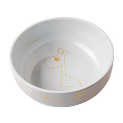 Done by Deer Contour Yummy Bowl Gold/Grey