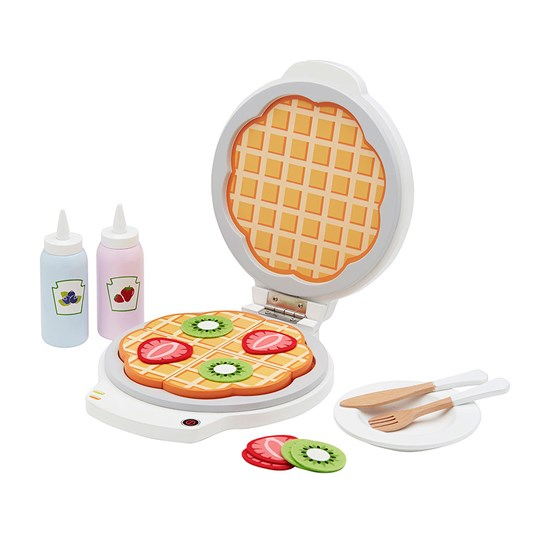 Kids Concept Waffle Playset White