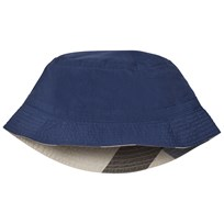 Burberry Navy Channing N Sun Hat INDIGO