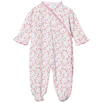 Kissy Kissy Pink Multi Floral Cross Over Babygrow PK