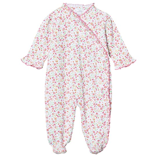 Kissy Kissy Pink Floral Footed Baby Body PK