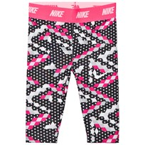 NIKE Printed Dri-Fit Capri Leggings Svart 023