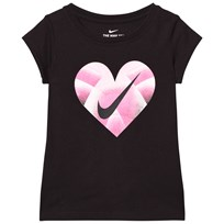 NIKE Black Step Gradient Heart Tee 023